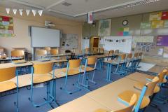 Beispiel Klassenraum mit Smartboard