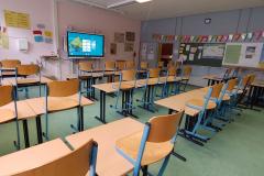 Beispiel Klassenraum mit Panel