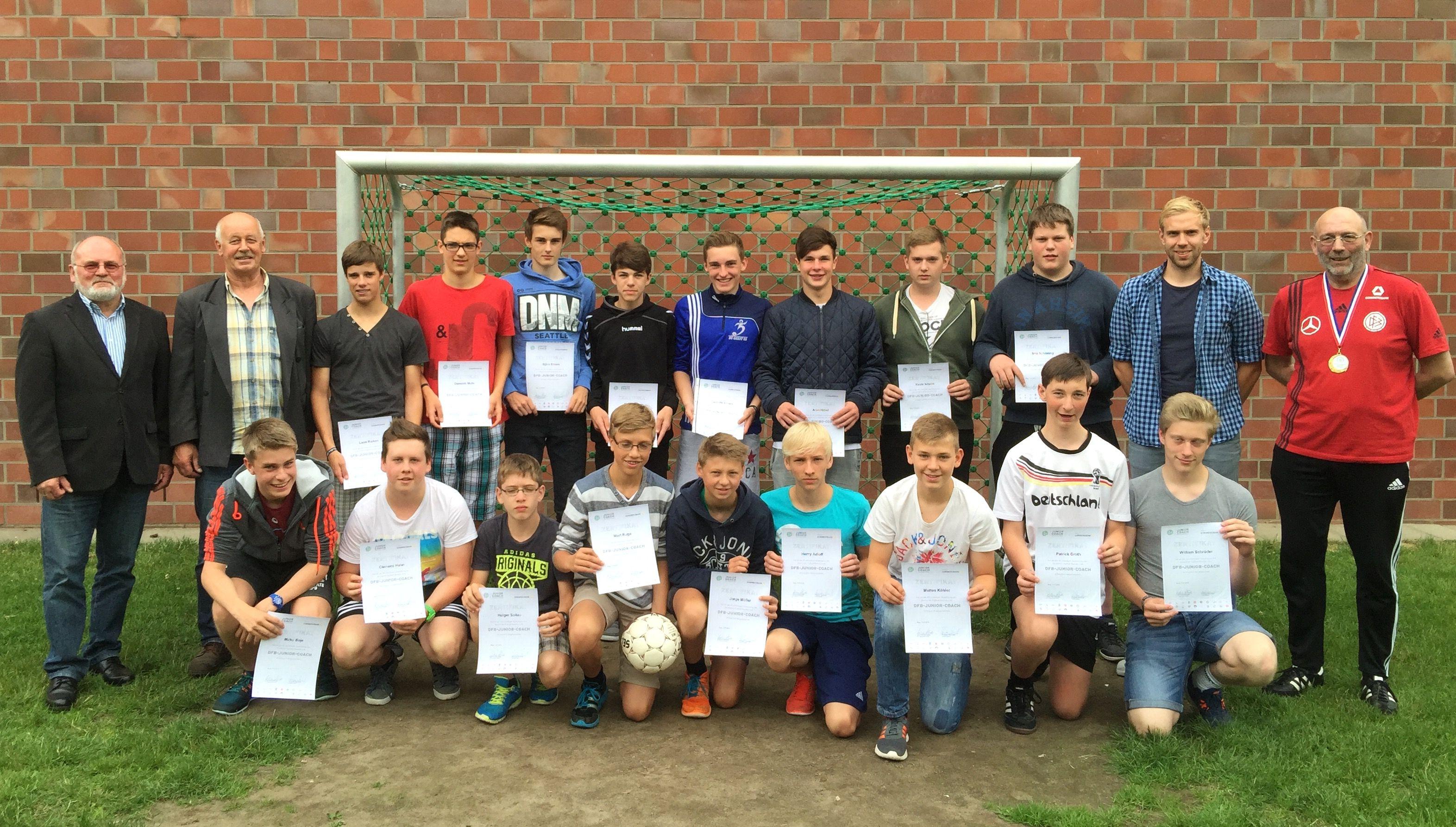Stützpunktschule Fußball