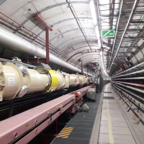 Im Inneren des Teilchenbeschleunigers