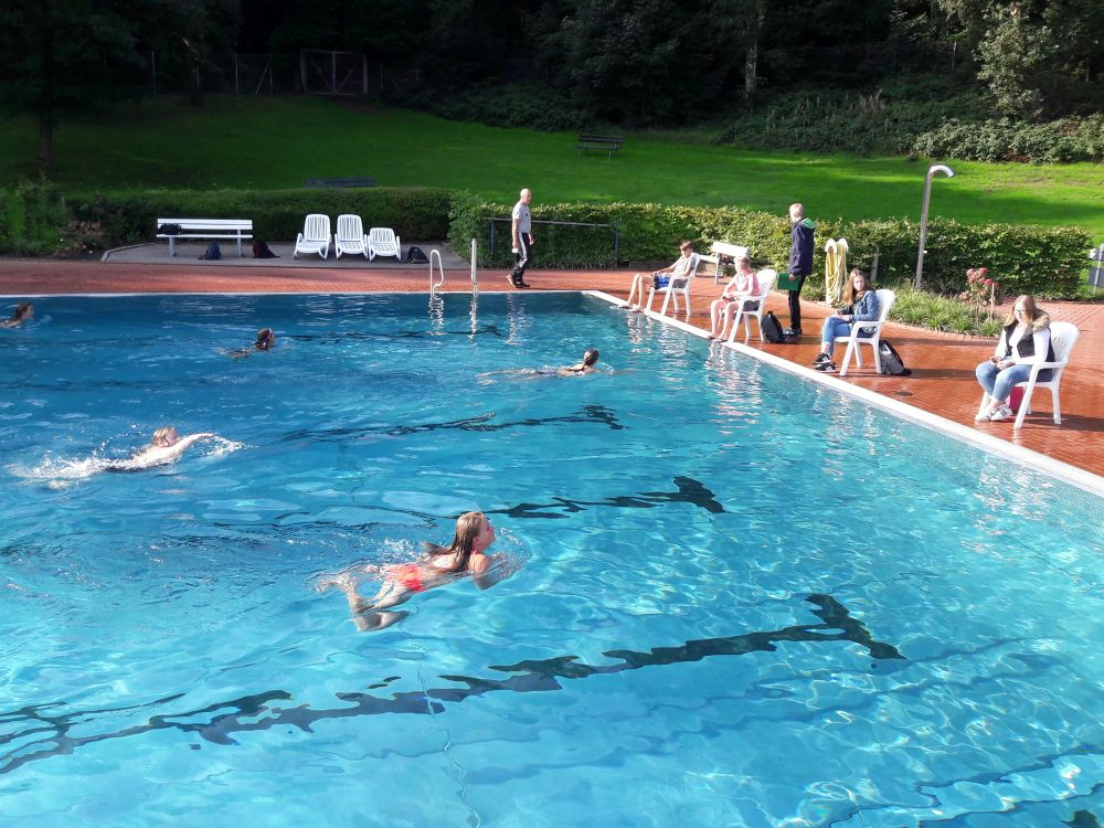 Bundesjugendspiele Schwimmen