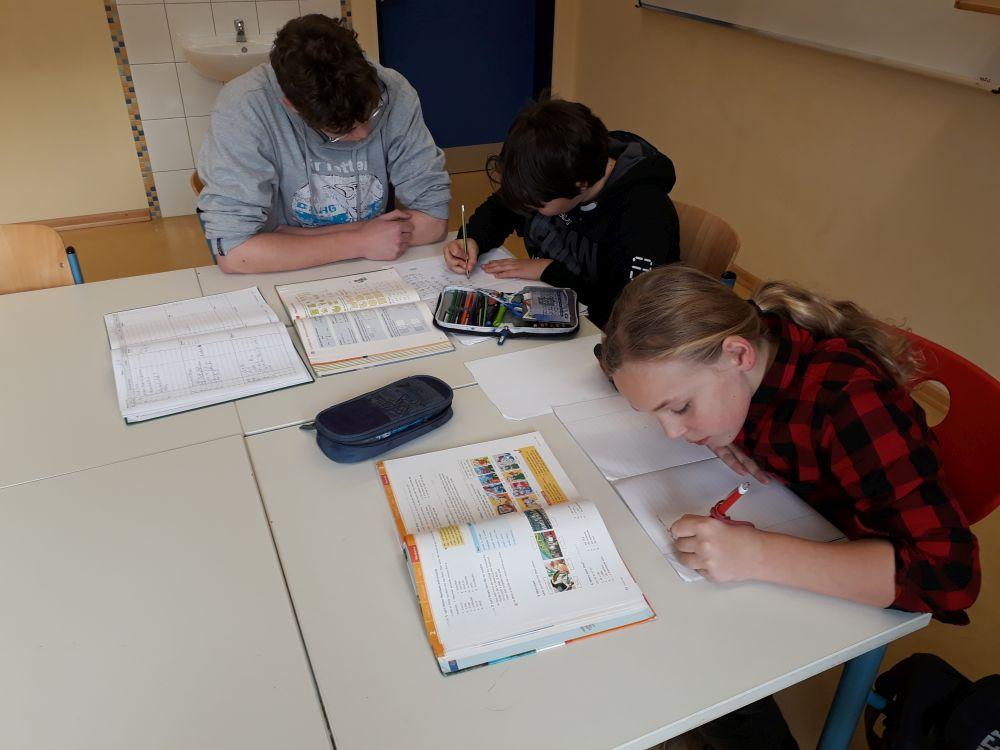 Hausaufgaben- und Lernzeit