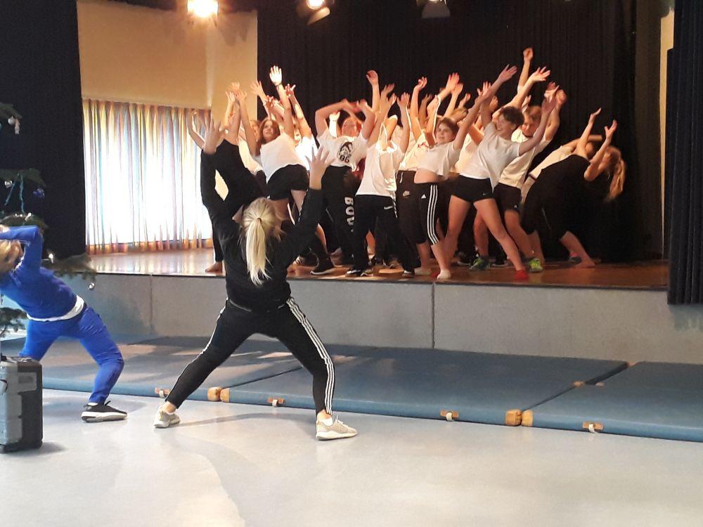 Hip-Hop Tanzprojekt