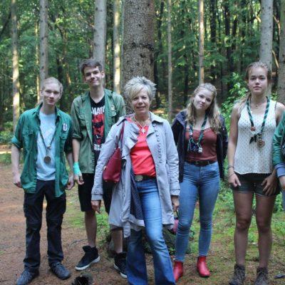 Waldjugend, Frau von der Heyde