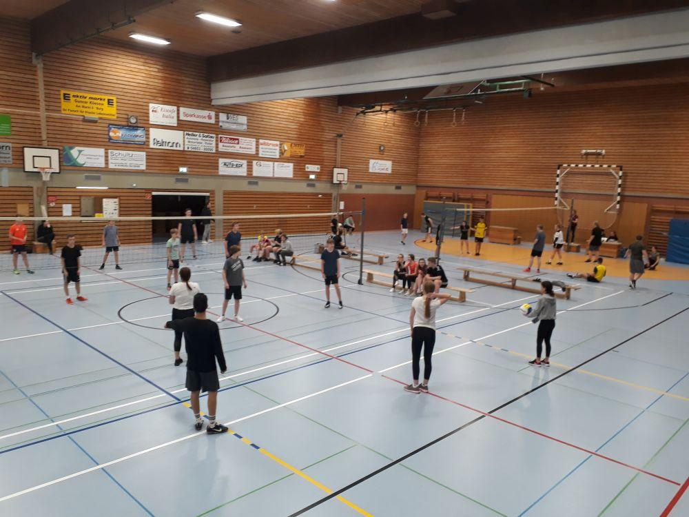 Volleyball-Weihnachtsturnier